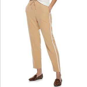 Nine West 14 Eli Tan Slim Straight Soft Pants NWOT
